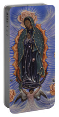 Lady Of The Roses Portable Battery Charger