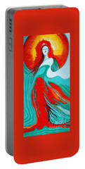 Lady Of Two Worlds Portable Battery Charger
