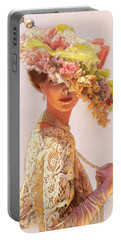 Lady Victoria Victorian Elegance Portable Battery Charger