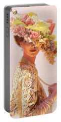 Pastel Portrait Portable Battery Chargers