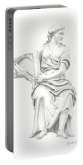 Lady With Harp II Portable Battery Charger
