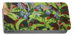 Ladybirds Portable Battery Charger by Andrew Macara