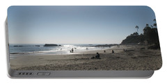 Portable Battery Charger featuring the photograph Laguna Beach Afternoon by Connie Fox
