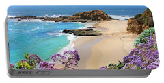 Laguna Beach Coastline Portable Battery Charger