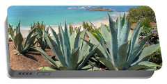 Laguna Coast With Cactus Portable Battery Charger