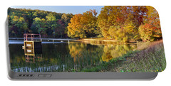 Lake At Chilhowee Portable Battery Charger