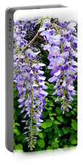 Lake Country Wisteria Portable Battery Charger by Will Borden