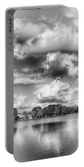 Portable Battery Charger featuring the photograph Lake De Soto by Howard Salmon