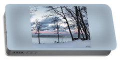Lake Erie Sunrise Portable Battery Charger