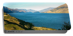 Lake Hawea Portable Battery Charger by Stuart Litoff