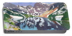 Lake Isabelle Colorado Portable Battery Charger