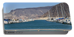 Lake Mead From The Marina Portable Battery Charger