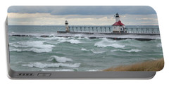 Lake Michigan Winds Portable Battery Charger