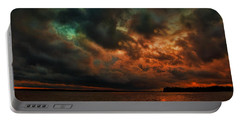 Lake Murray Fire Sky Portable Battery Charger