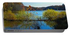 Lake Needwood Reflections Portable Battery Charger