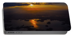 Lake Norman Sunrise Portable Battery Charger by Greg Reed