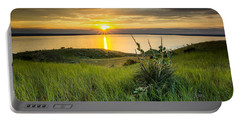 Lake Oahe Sunset Portable Battery Charger