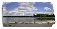 Portable Battery Charger featuring the photograph Lake Of Dreams by Verana Stark