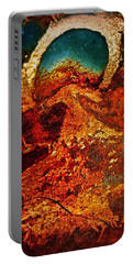 Lake Of Lava Portable Battery Charger by Leanna Lomanski