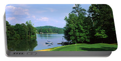 Lake On A Golf Course, Legend Course Portable Battery Charger by Panoramic Images