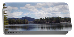 Lake Placid Portable Battery Charger by John Telfer