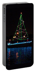 West End Boat Parade - Lights On The Lake, Lake Pontchartrain, New Orleans La Portable Battery Charger