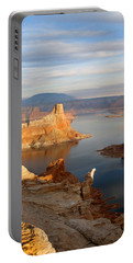 Lake Powell From Alstrum Pt 12 Portable Battery Charger