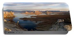 Lake Powell From Alstrum Pt Pan 2 Portable Battery Charger