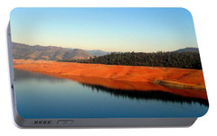 Portable Battery Charger featuring the photograph Lake Reflections by AJ  Schibig