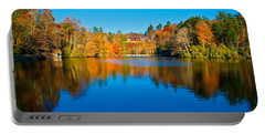 Portable Battery Charger featuring the photograph Lake Reflections by Alex Grichenko