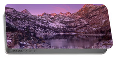 Lake Sabrina Sunrise Eastern Sierras California Portable Battery Charger