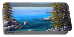Lake Tahoe Inlet Portable Battery Charger
