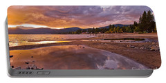 Portable Battery Charger featuring the photograph Lake Tahoe by Mae Wertz