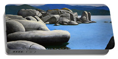 Lake Tahoe Rocky Cove Portable Battery Charger