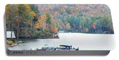 Lake Toxaway In The Fall Portable Battery Charger