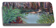 Lake Tranquility Portable Battery Charger
