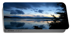 Lake Umbagog Sunset Blues No. 2 Portable Battery Charger