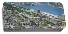 Lake Union Panorama Portable Battery Charger