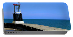 Lakefront Pier Tower Portable Battery Charger
