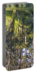 Portable Battery Charger featuring the photograph Lakeshore Reflections by Kate Brown