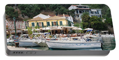 Lakka Harbour On Paxos Portable Battery Charger
