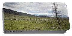 Lamar Valley No. 1 Portable Battery Charger by Belinda Greb