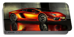 Lamborghini Aventador Portable Battery Charger