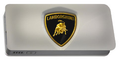 Lamborghini Badge Portable Battery Charger