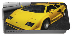 Lamborghini Countach Portable Battery Charger
