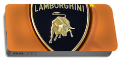 Lamborghini Emblem -0525c55 Portable Battery Charger