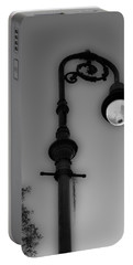 Portable Battery Charger featuring the photograph Savannah Lamp Post by Frank Bright