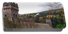 Lancaster Kc-a At The Derwent Dam Portable Battery Charger