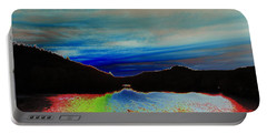 Portable Battery Charger featuring the photograph Landscape Abstract by Mike Breau