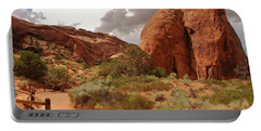 Landscape Arch - Utah Portable Battery Charger